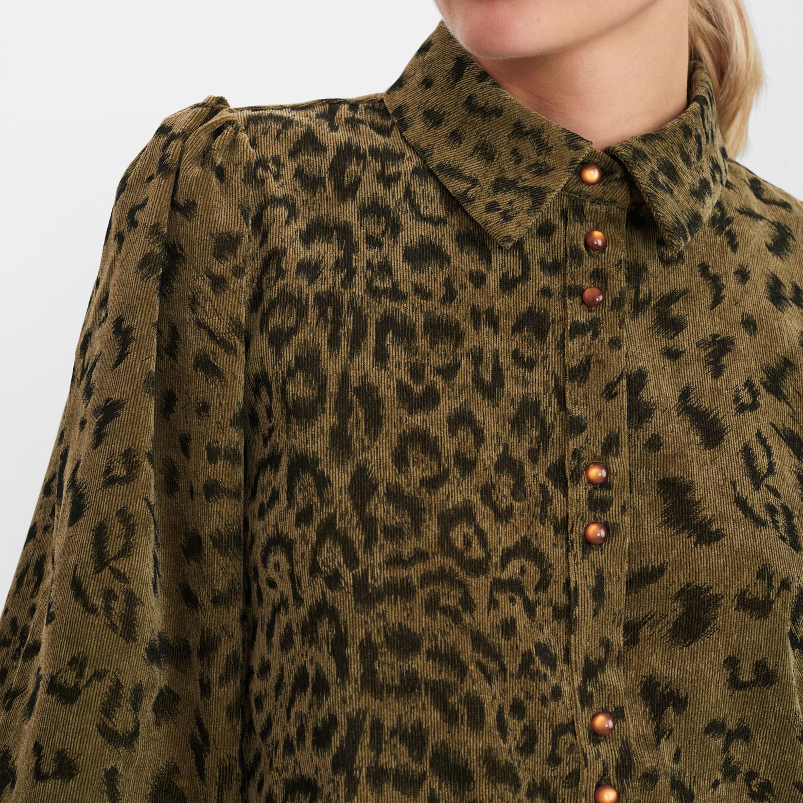 NÜMPH NUCHELSEA blouse leopard print