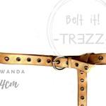 TREZZ WANDA, echt leren riem