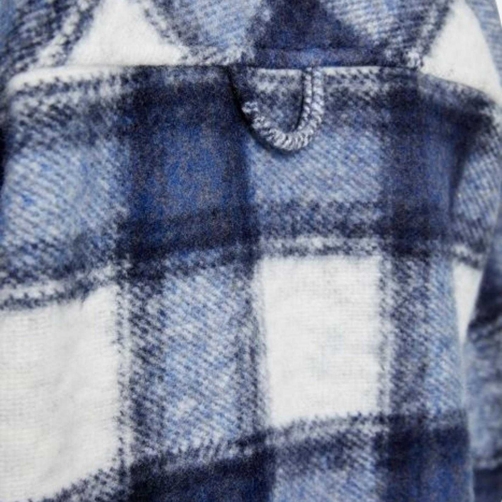 SMITH & SOUL CHECKS JACKET, over blouse