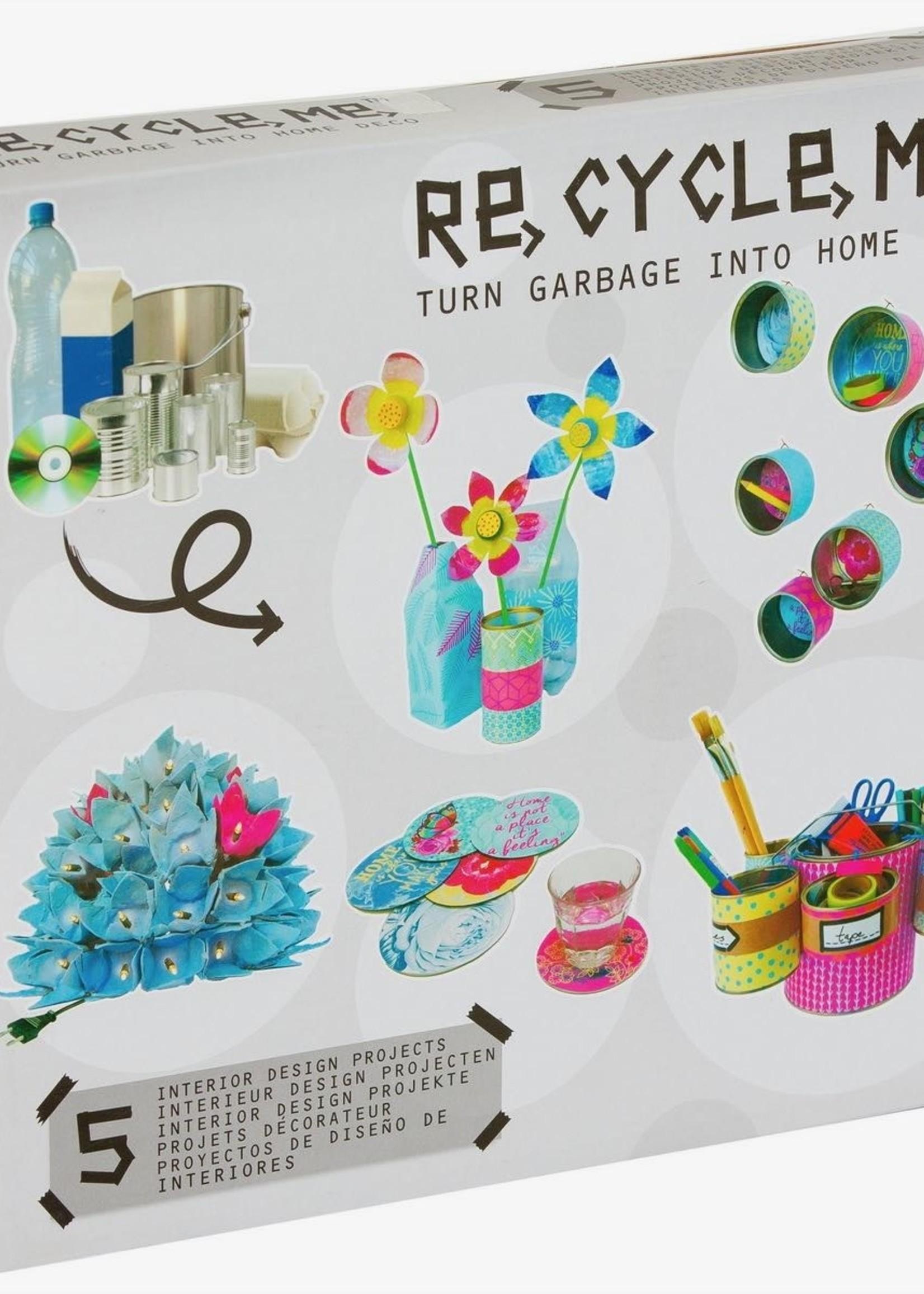Re-Cycle-Me  I fun 2 give Knutselpakket Homedecoraties