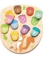 Tender Leaf Toys Telpuzzel - Hoeveel eikels