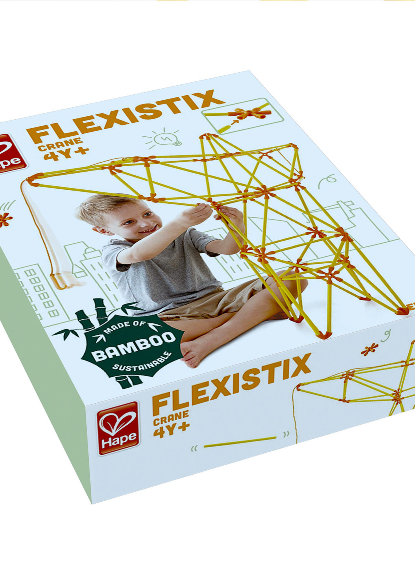 Hape Flexistix - Kraan