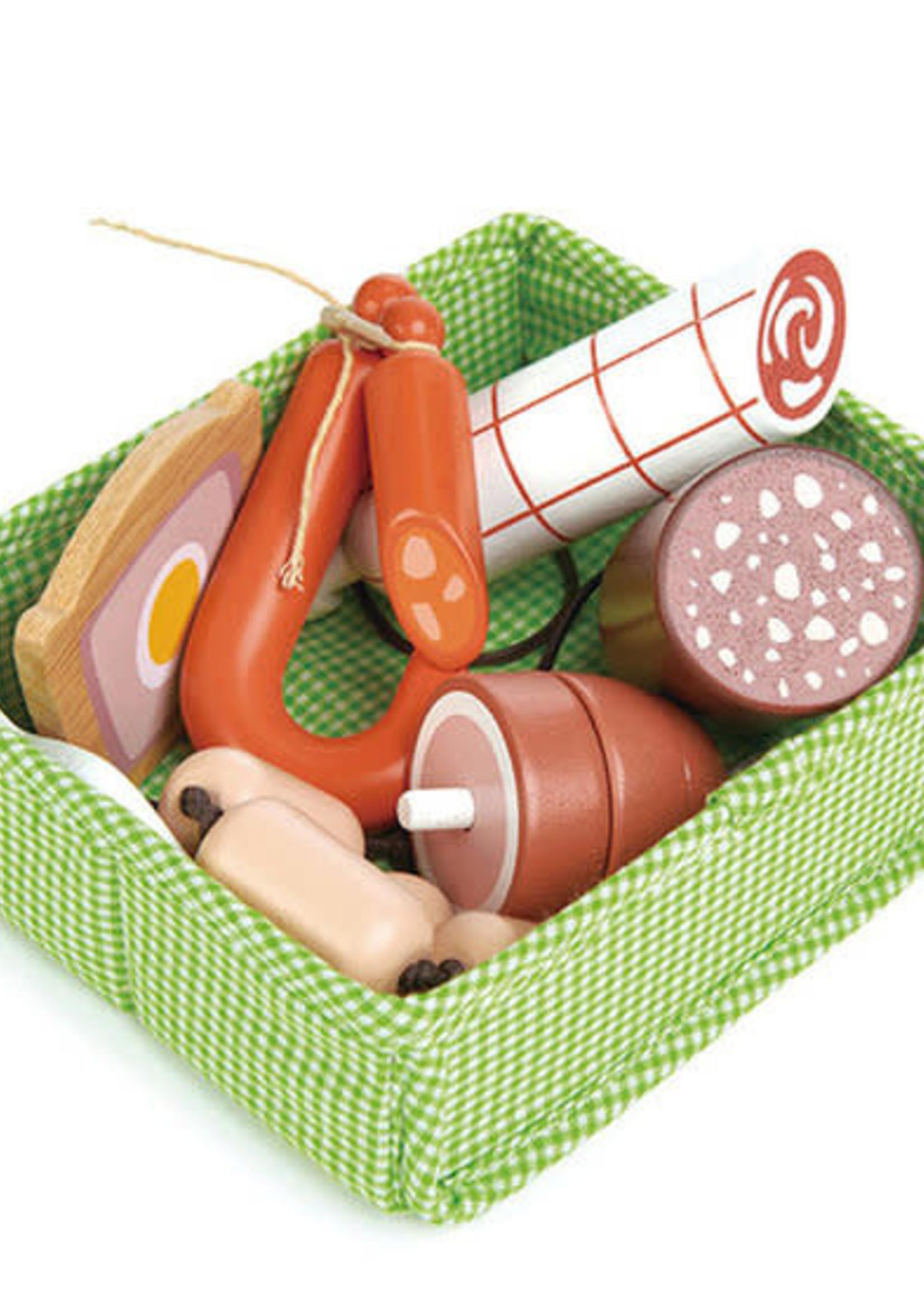 Tender Leaf Toys Mandje met vlees