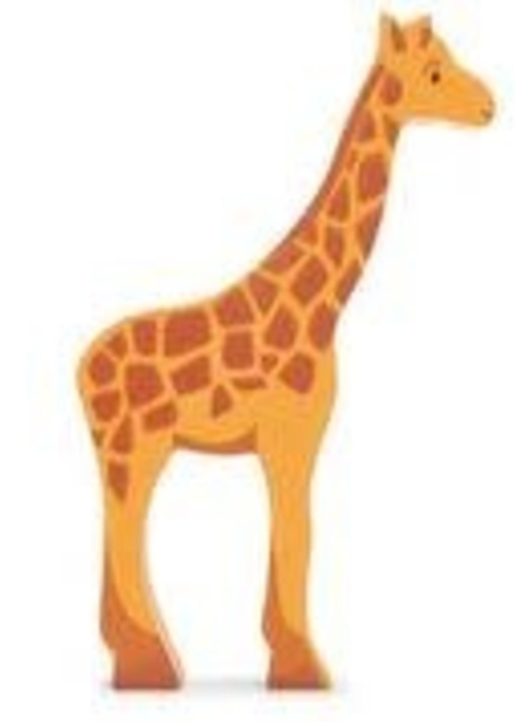 Tender Leaf Toys Houten safaridier - Giraf