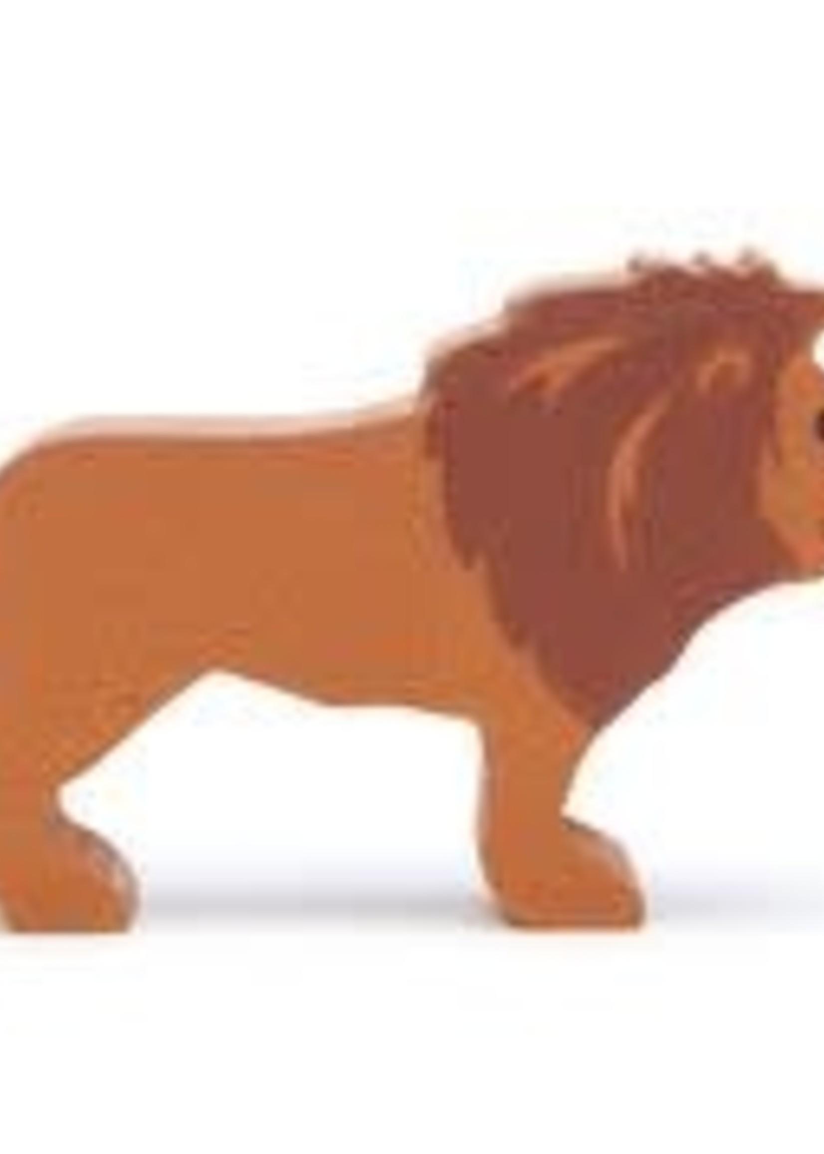 Tender Leaf Toys Houten safaridier - Leeuw