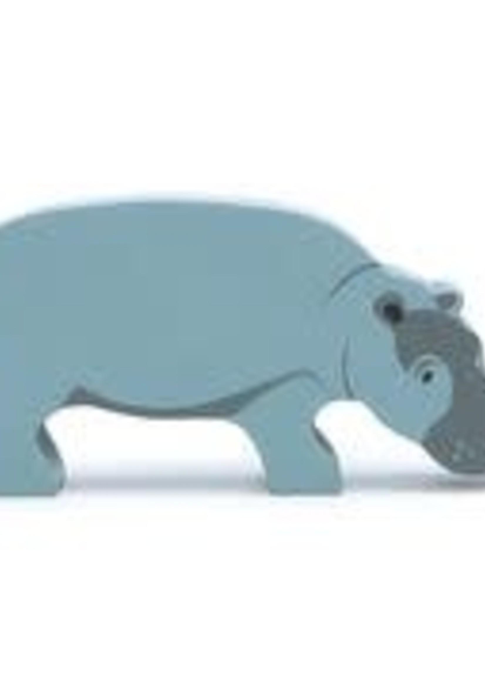 Tender Leaf Toys Houten safaridier - Nijlpaard