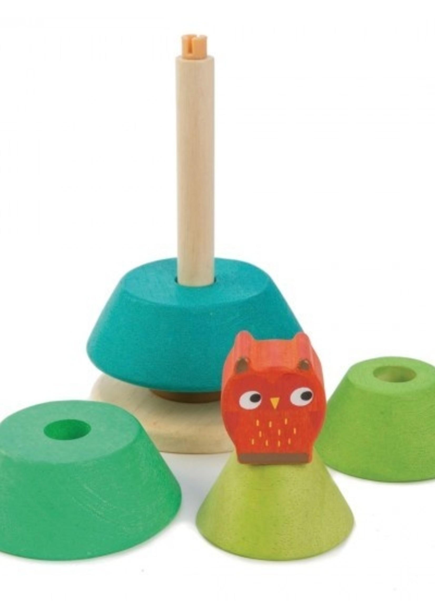 Tender Leaf Toys Stapelaar dennenboom