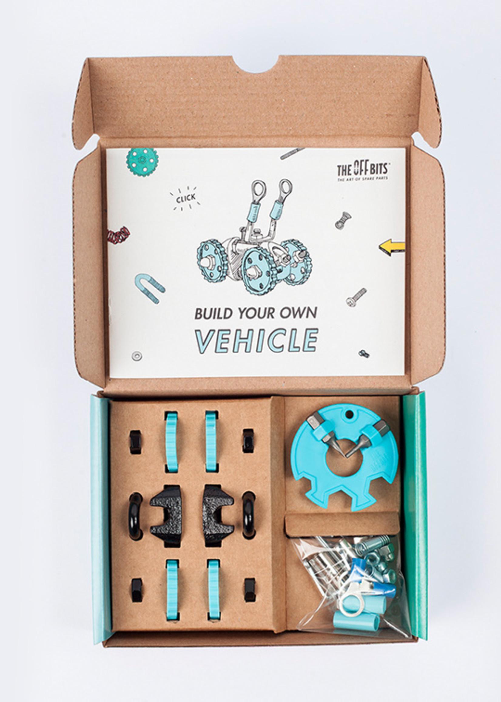 The Offbits Gearbit - Blauwe auto (M)