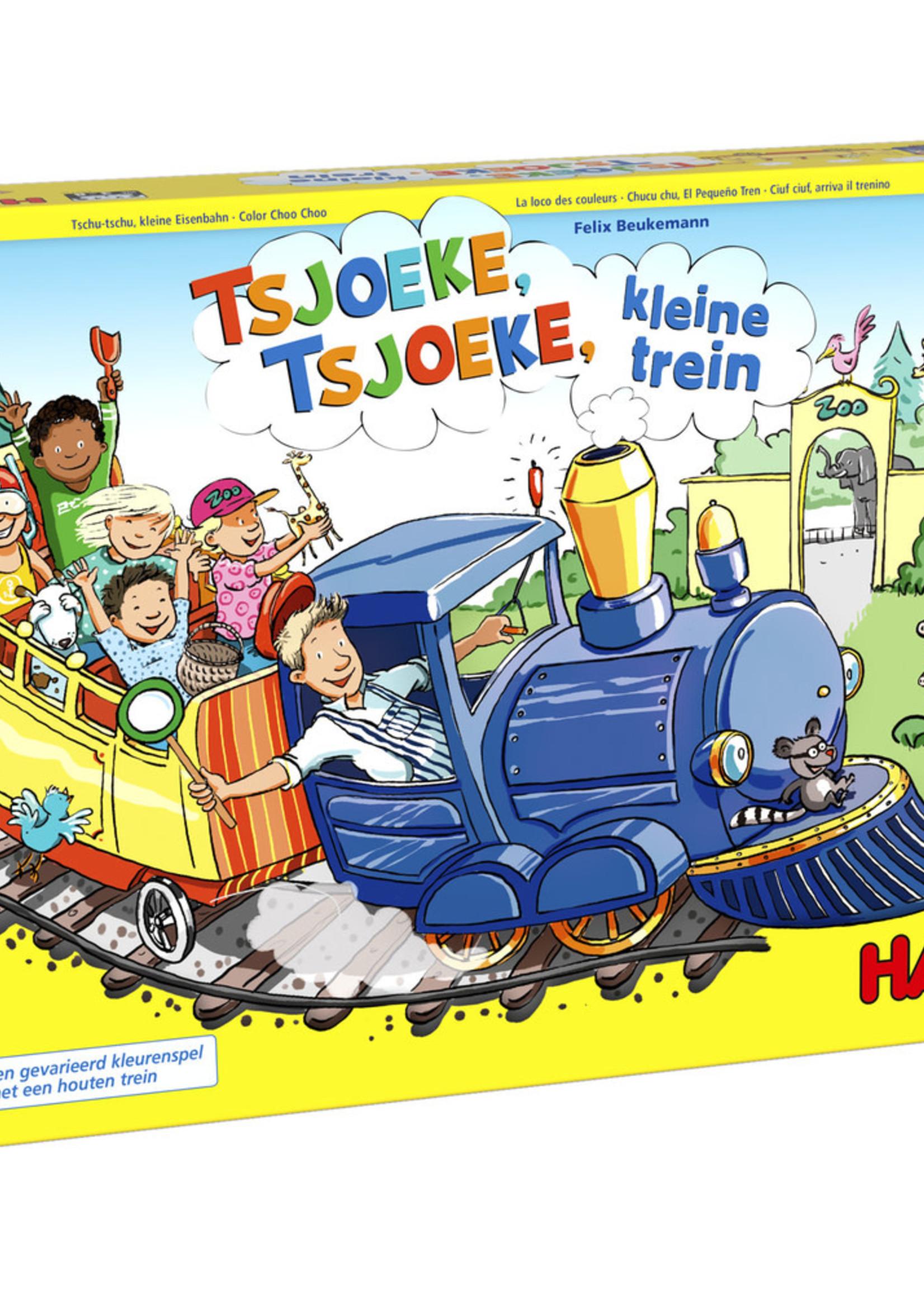 HABA Tsjoeke, tsjoeke, kleine trein