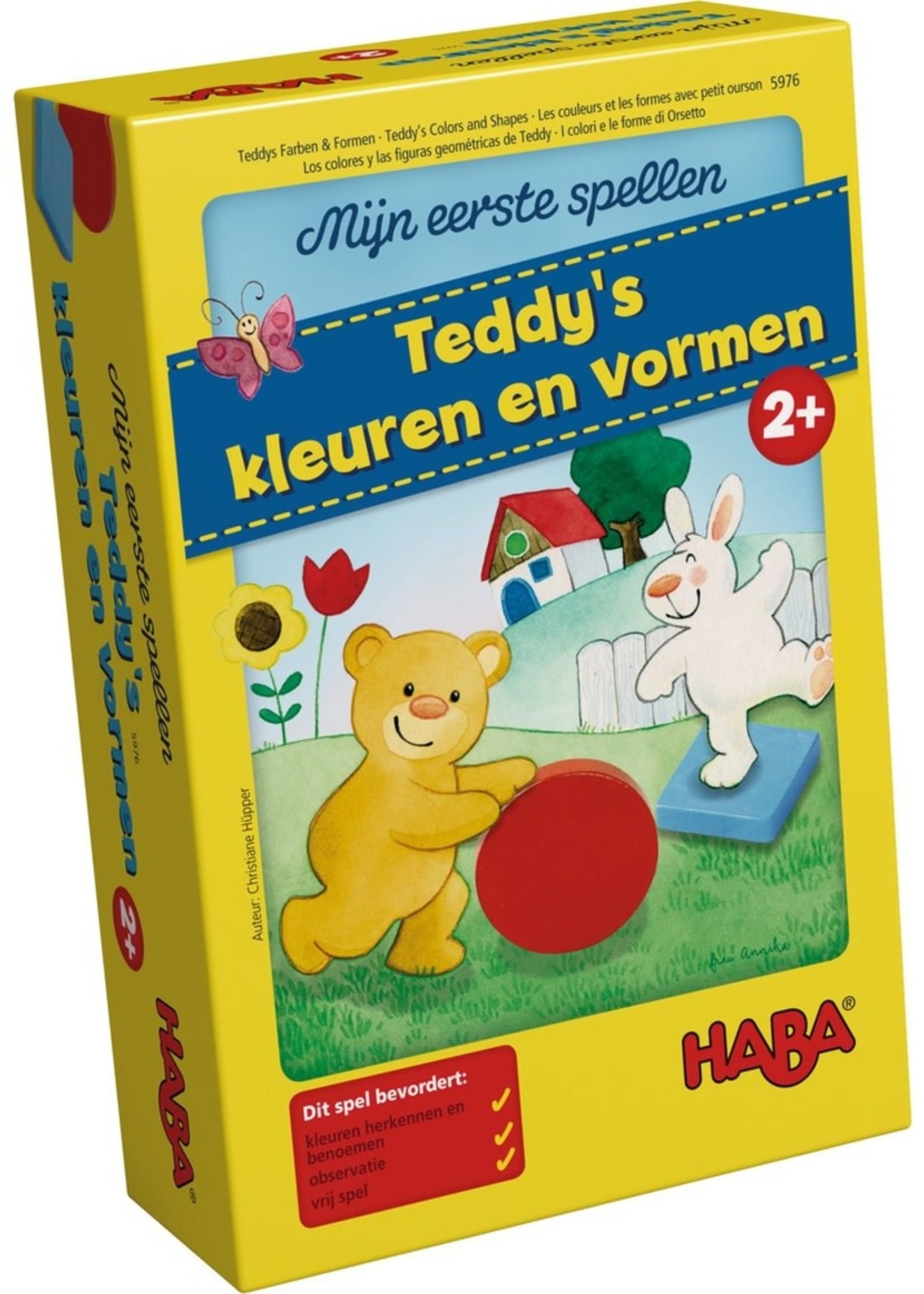 HABA Teddy's kleuren en vormen