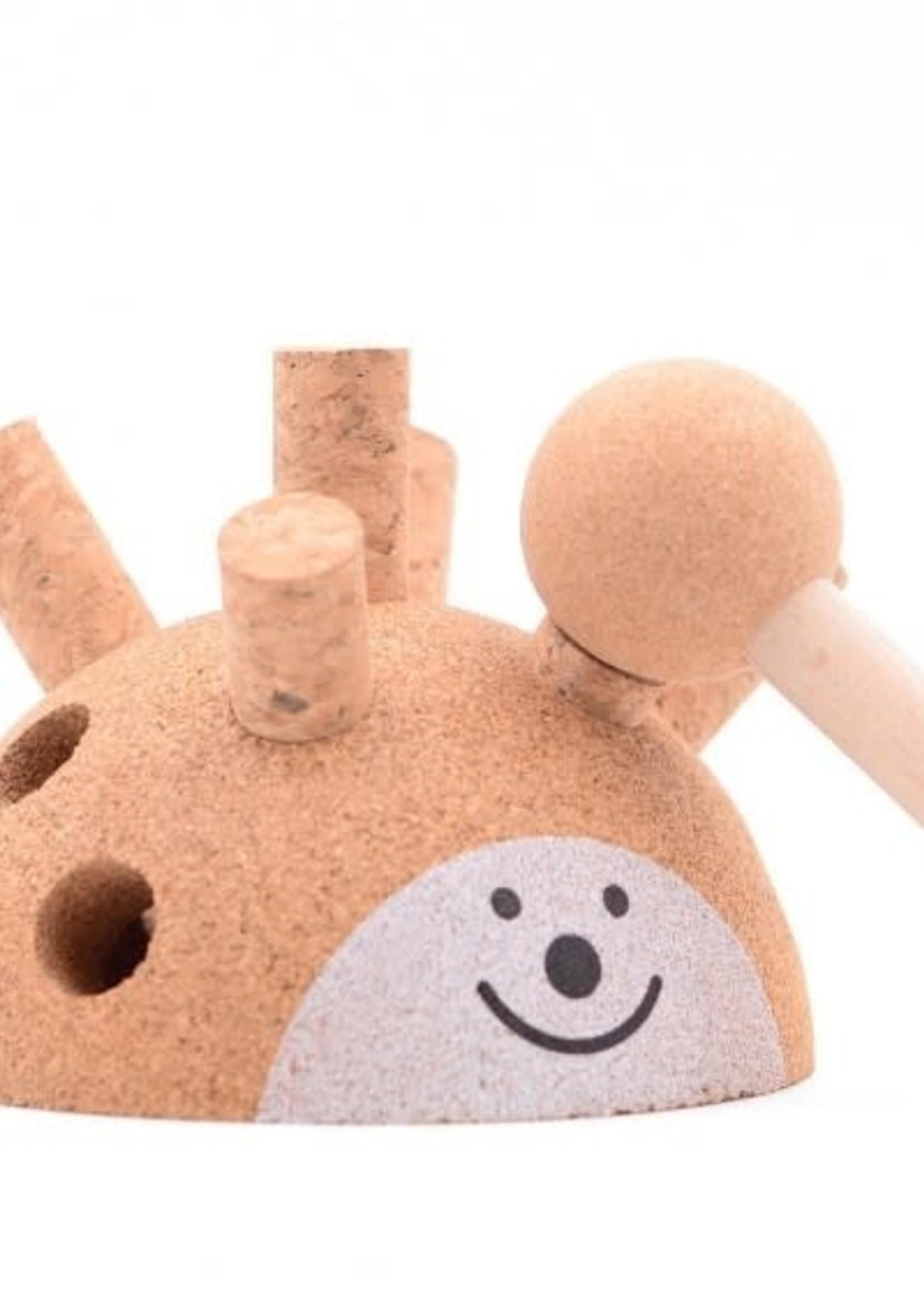 Elou Cork Toys Kurken klopspel Egel
