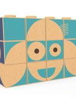 Elou Cork Toys Puzzelblokken