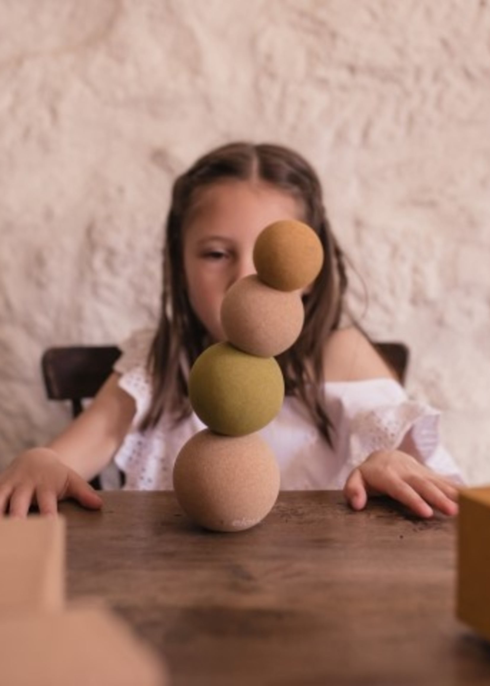 Elou Cork Toys Kurken stapelspel Bubbles