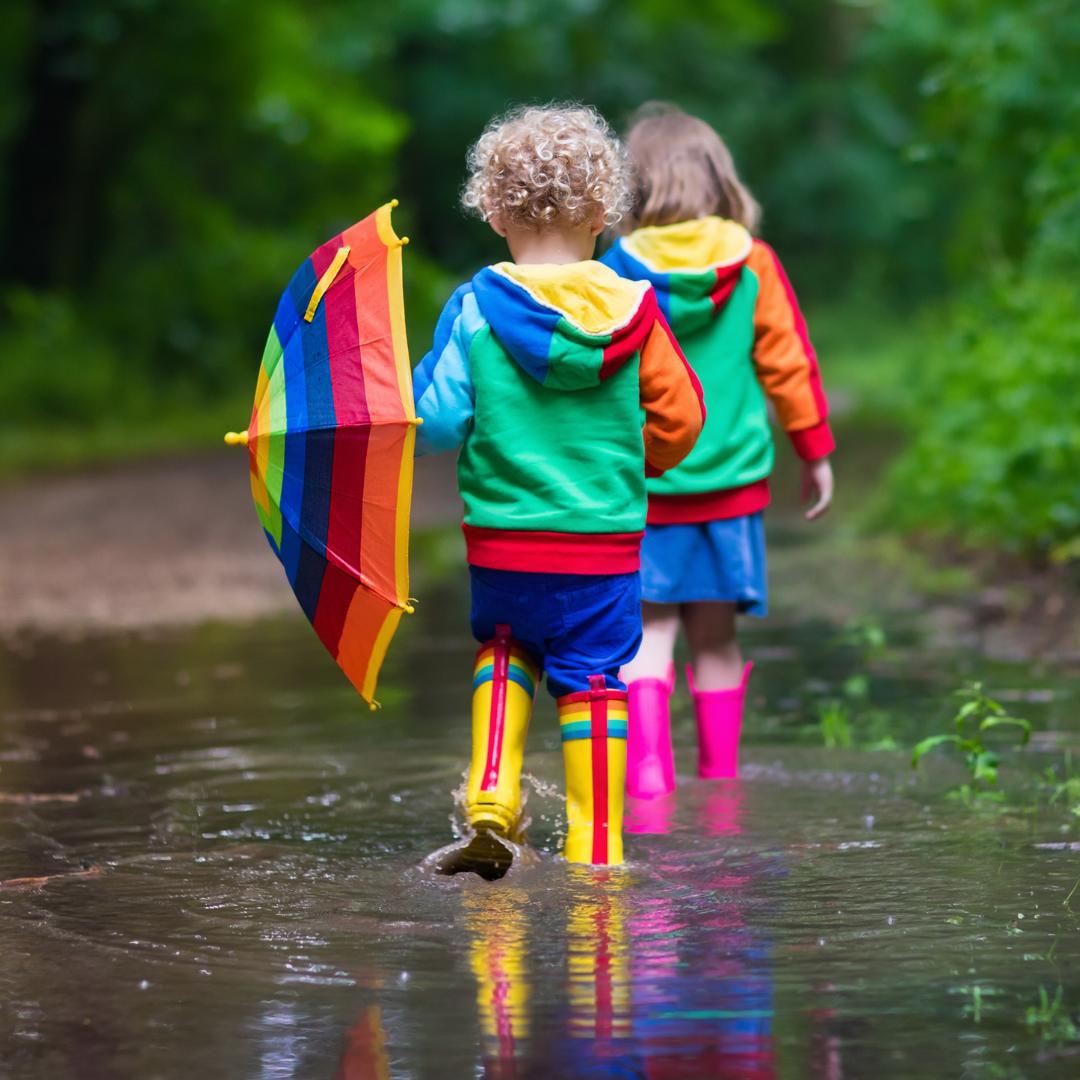 10 tips voor activiteiten in de regen