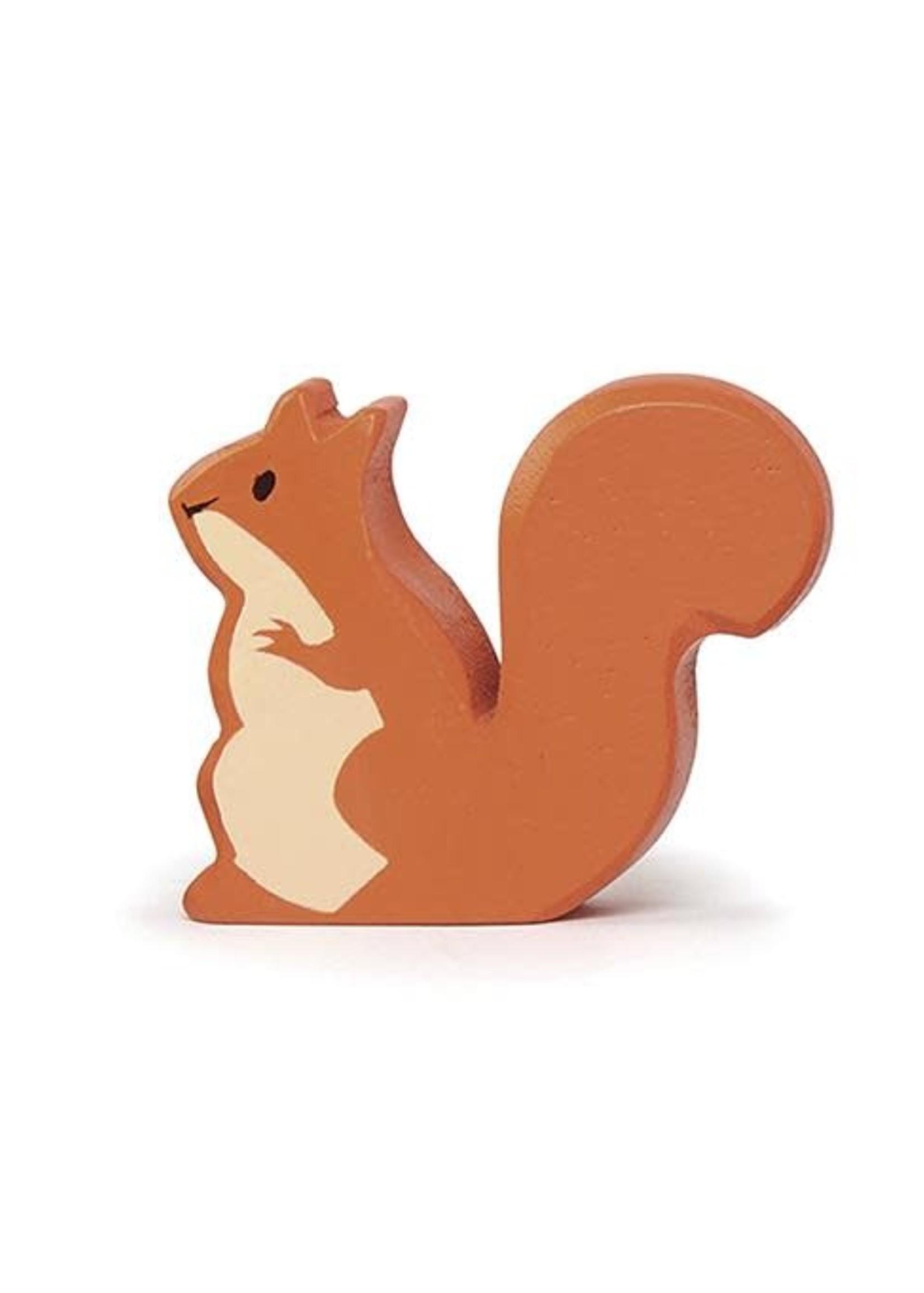 Tender Leaf Toys Houten bosdier - Rode eekhoorn