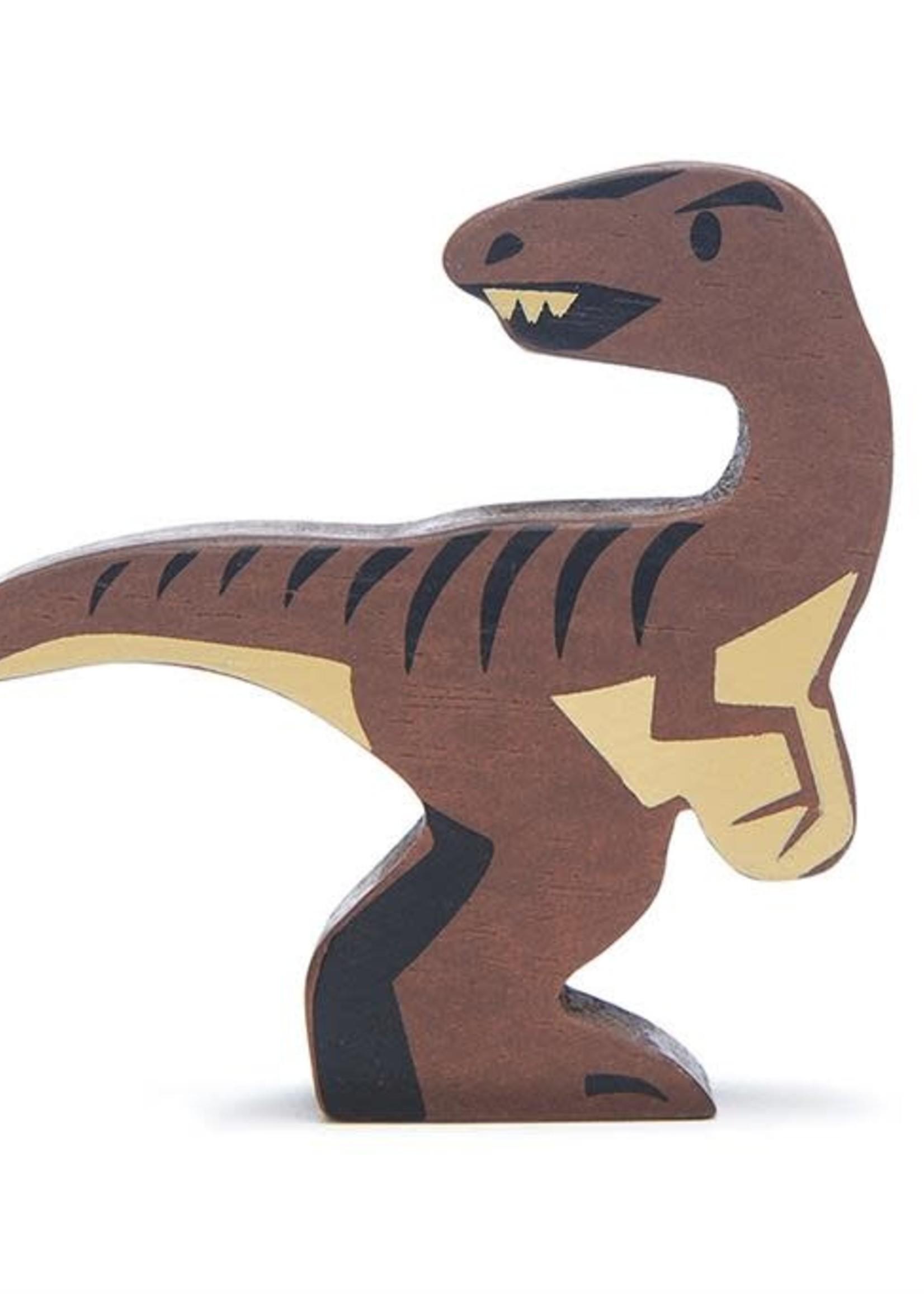 Tender Leaf Toys Houten dino - Velociraptor