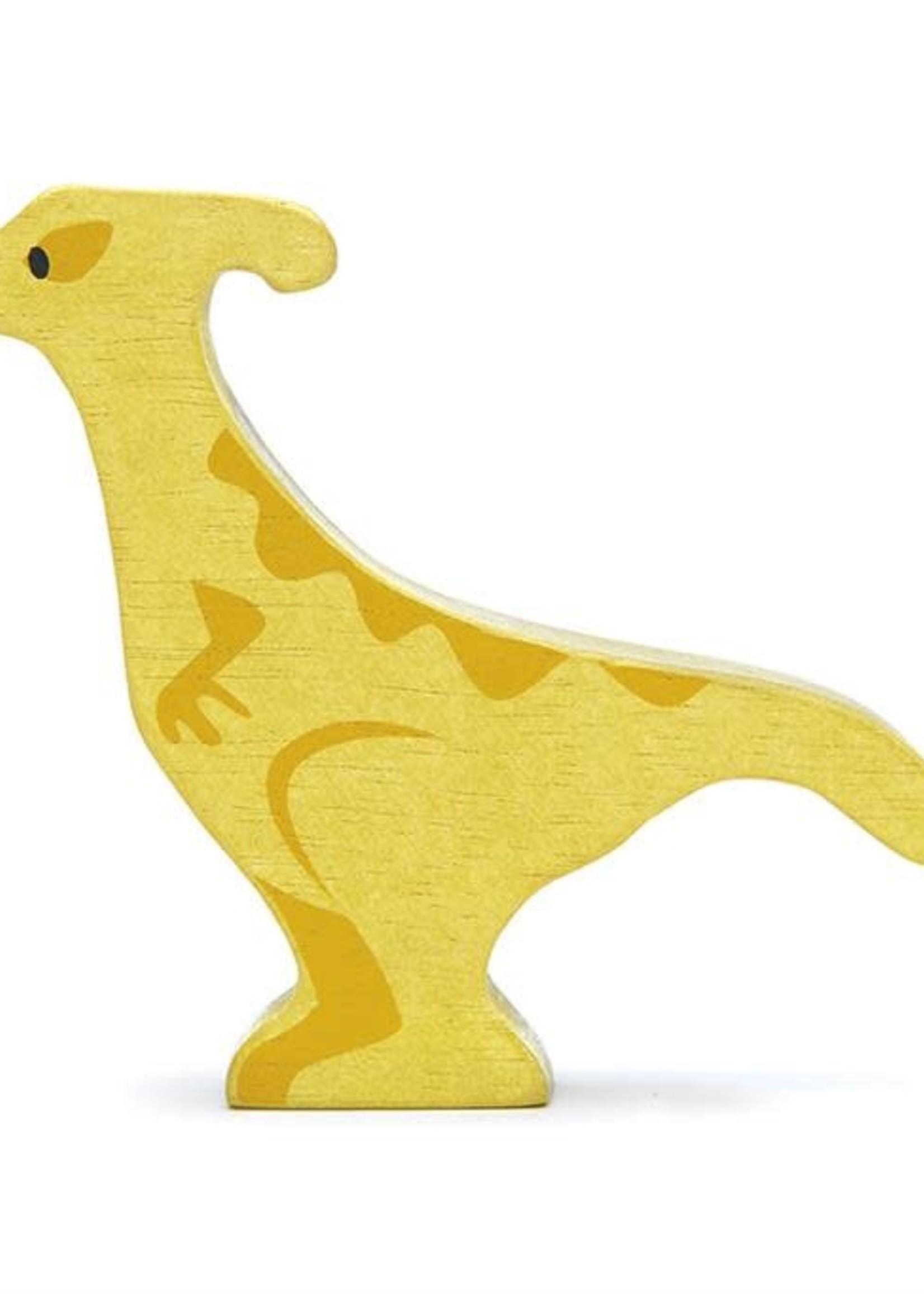 Tender Leaf Toys Houten dino - Parasaurolophus