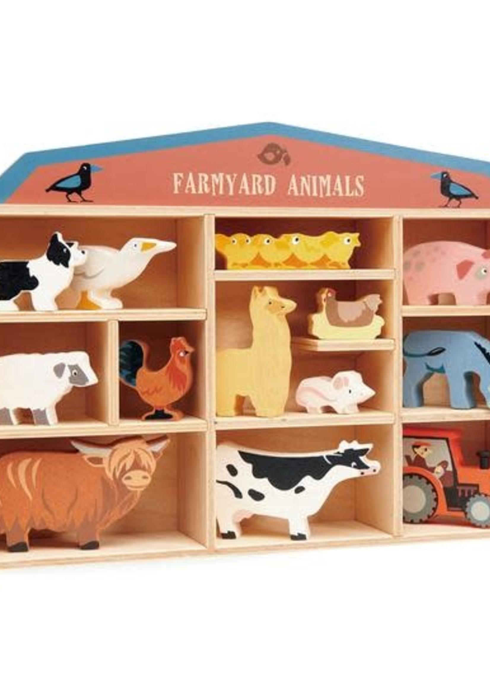 Tender Leaf Toys Set boerderijdieren