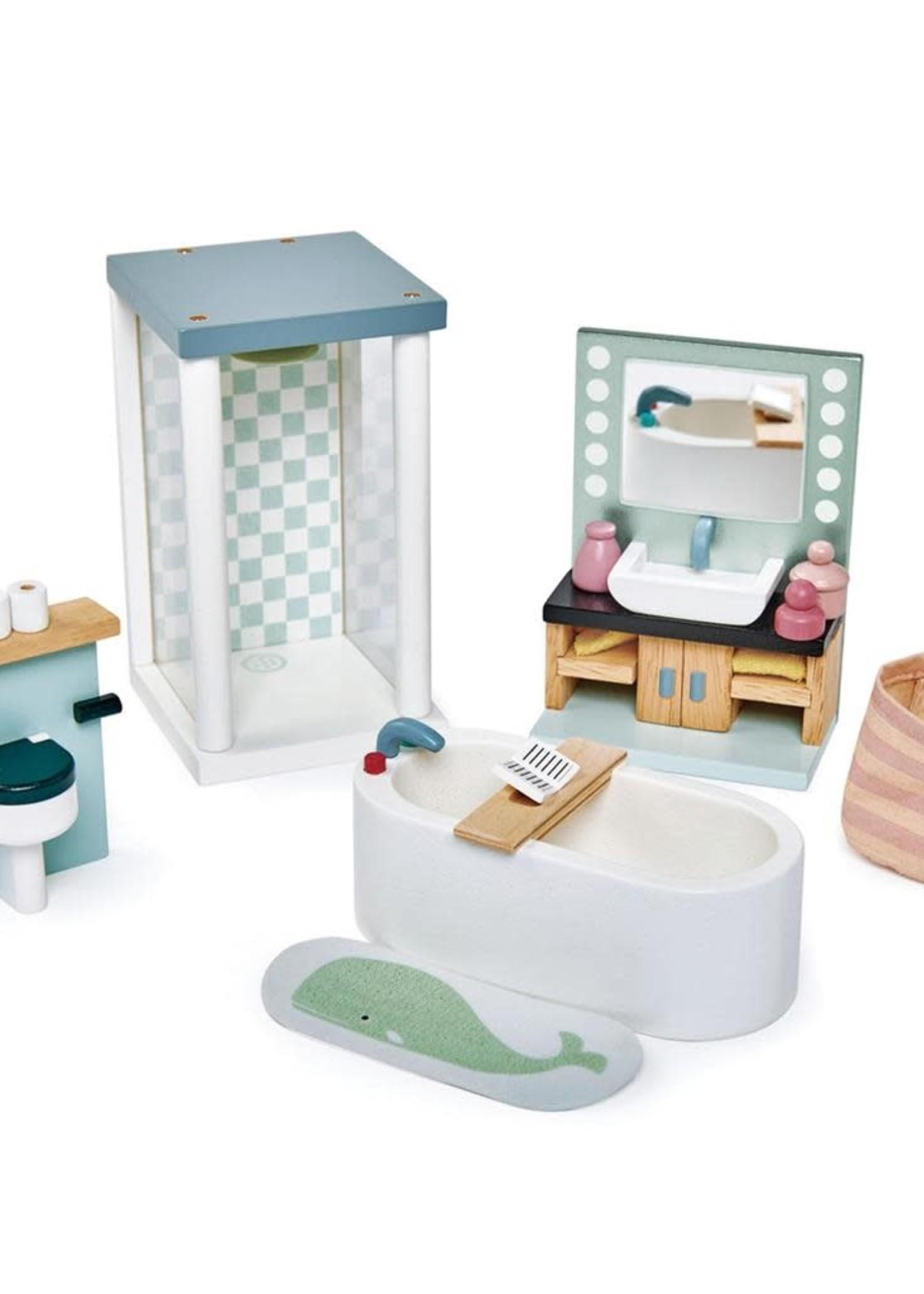Tender Leaf Toys Poppenhuis badkamer