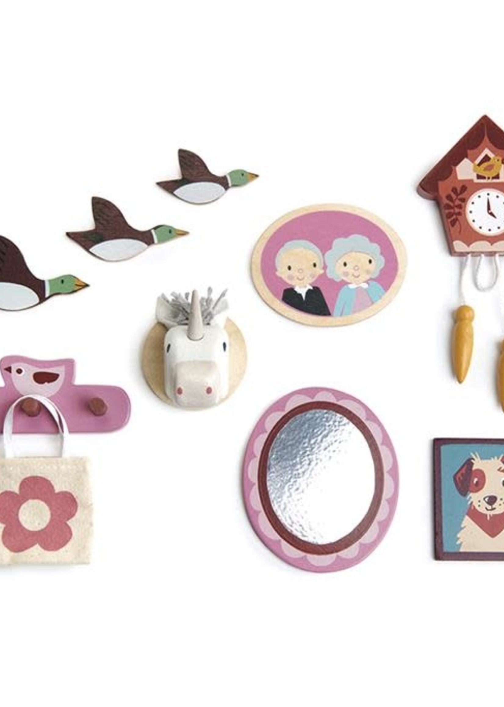 Tender Leaf Toys Poppenhuis muurdecoratie