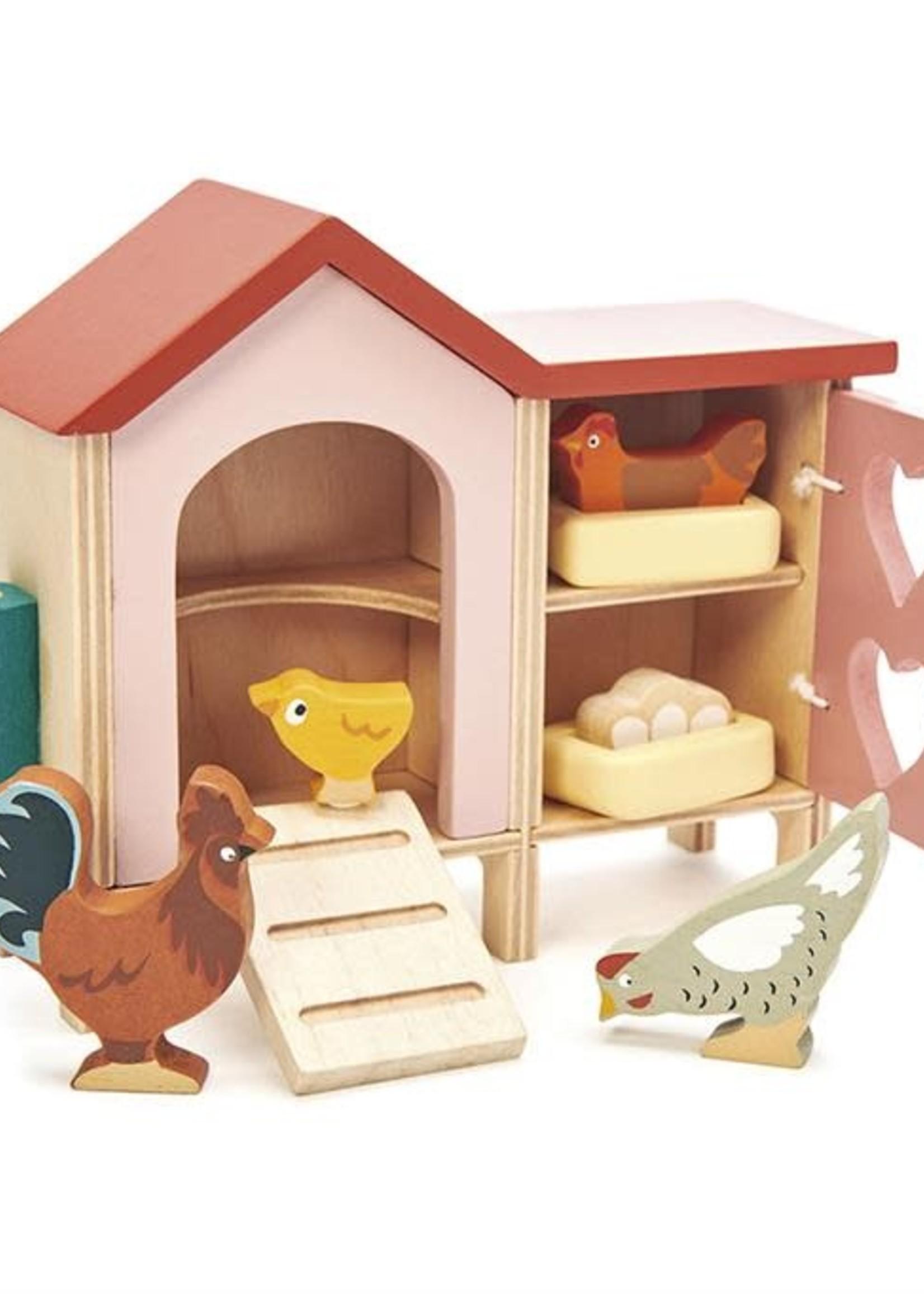 Tender Leaf Toys Poppenhuis kippenren