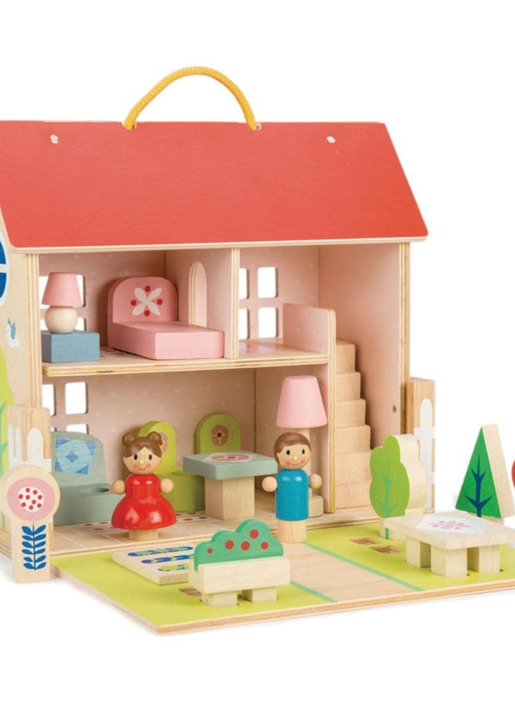 Tender Leaf Toys Draagbaar poppenhuis