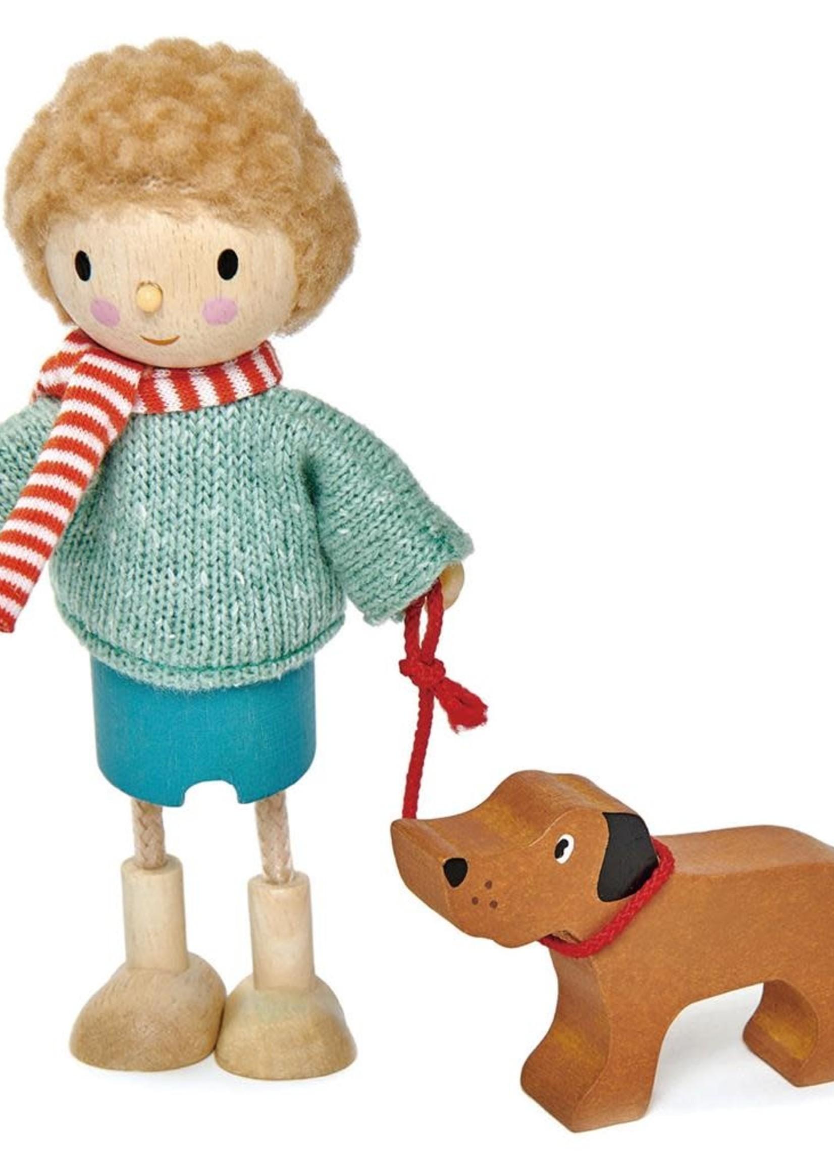 Tender Leaf Toys Popje Mr Goodwood met hond