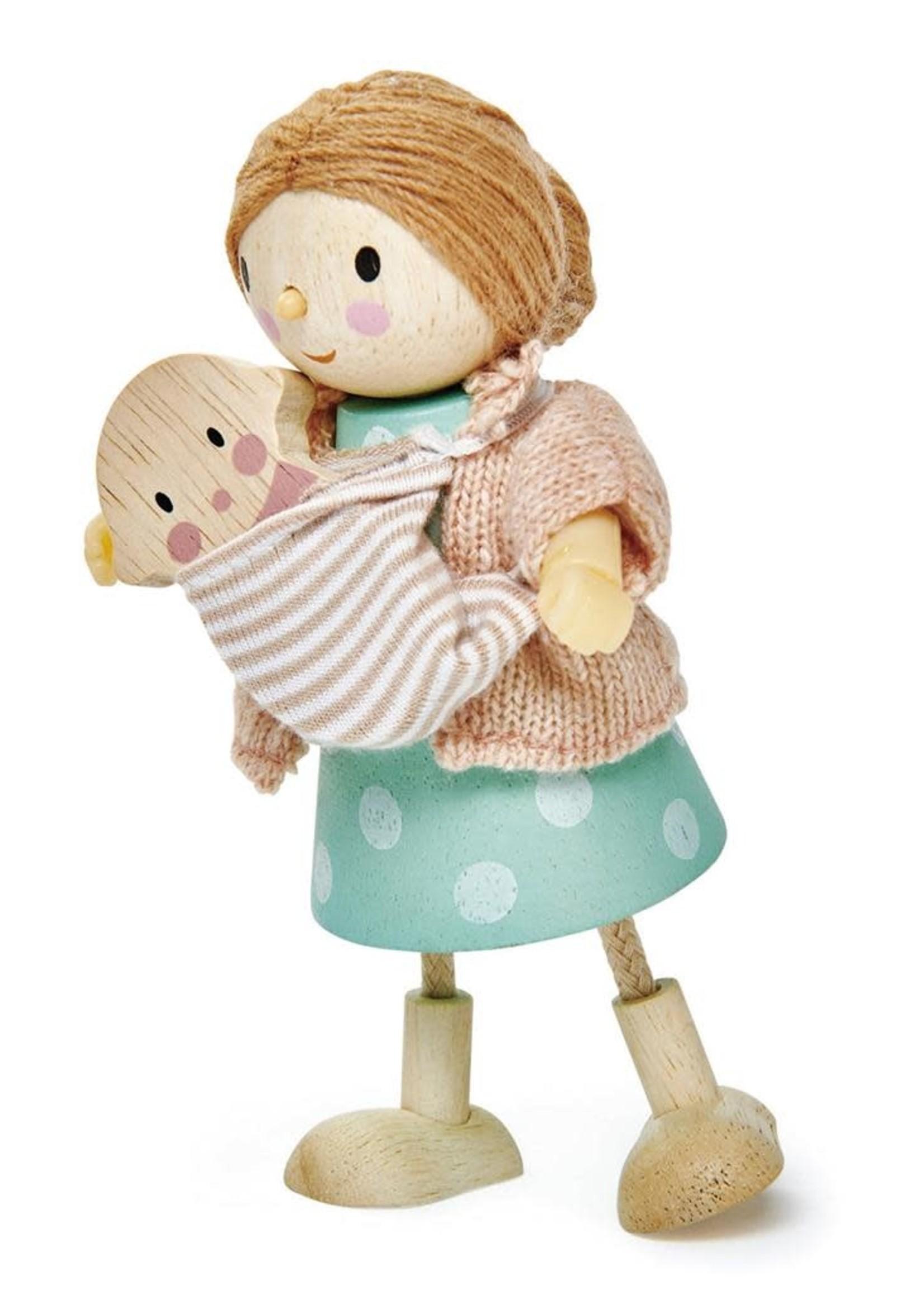 Tender Leaf Toys Popje Mvr Goodwood met baby