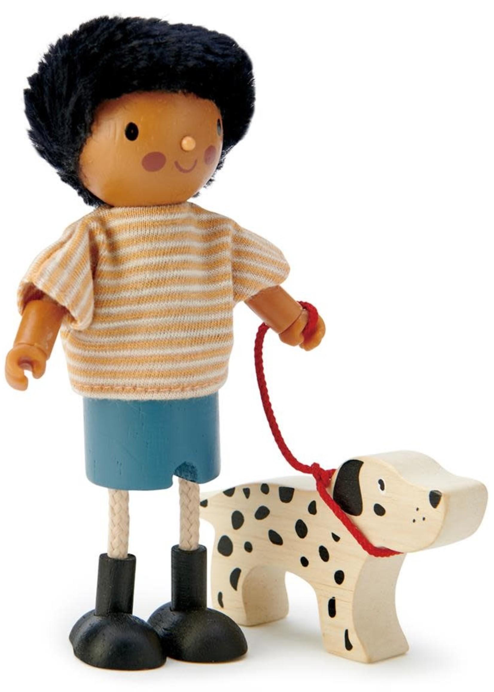 Tender Leaf Toys Popje Mr Forrester met hond