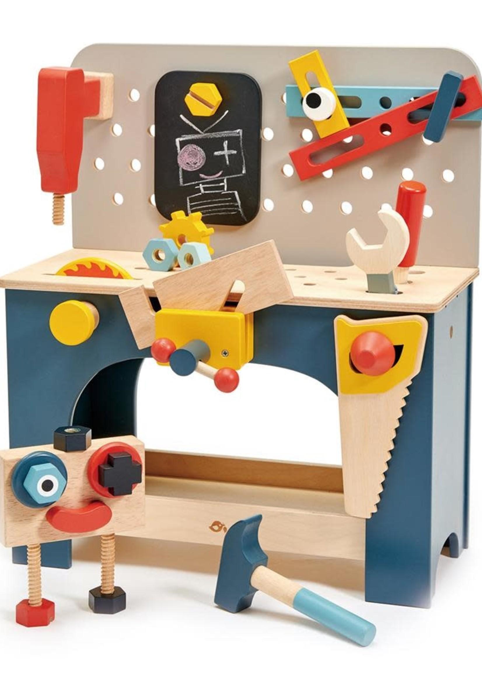 Tender Leaf Toys Werkbank tafelmodel