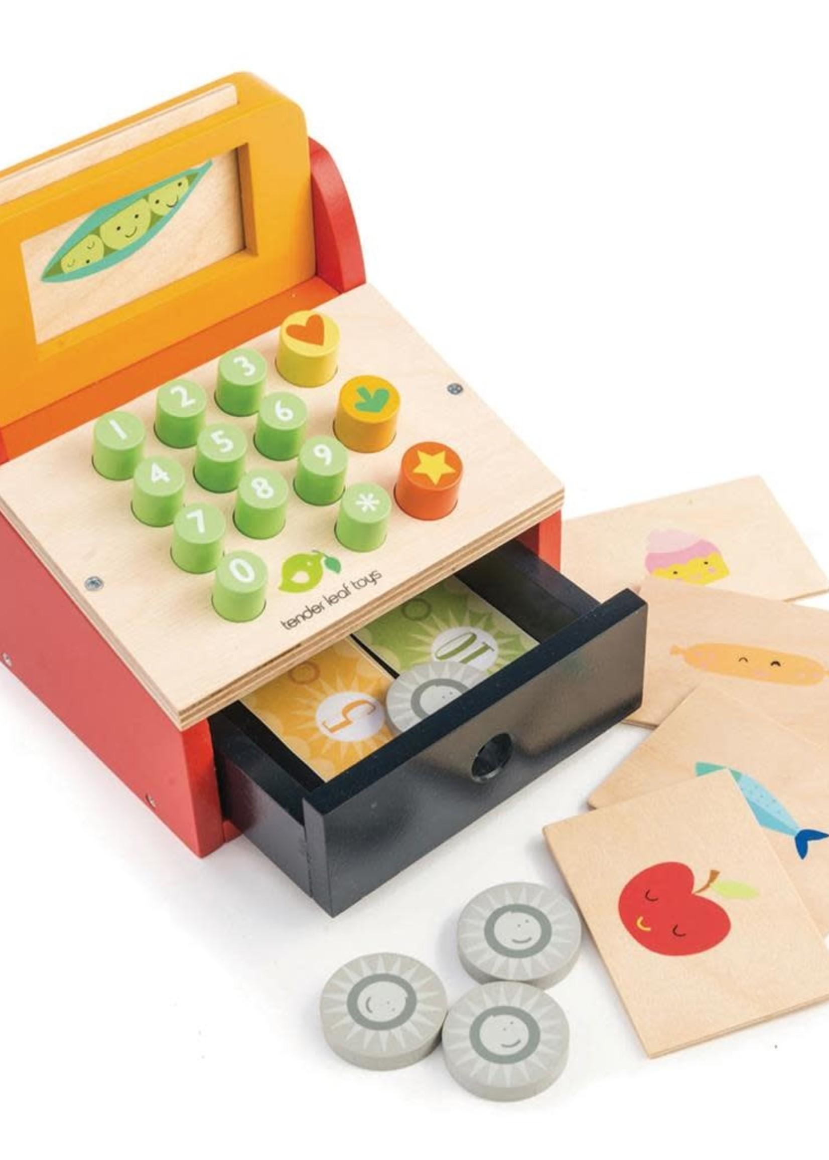 Tender Leaf Toys Kassa met speelgoedgeld