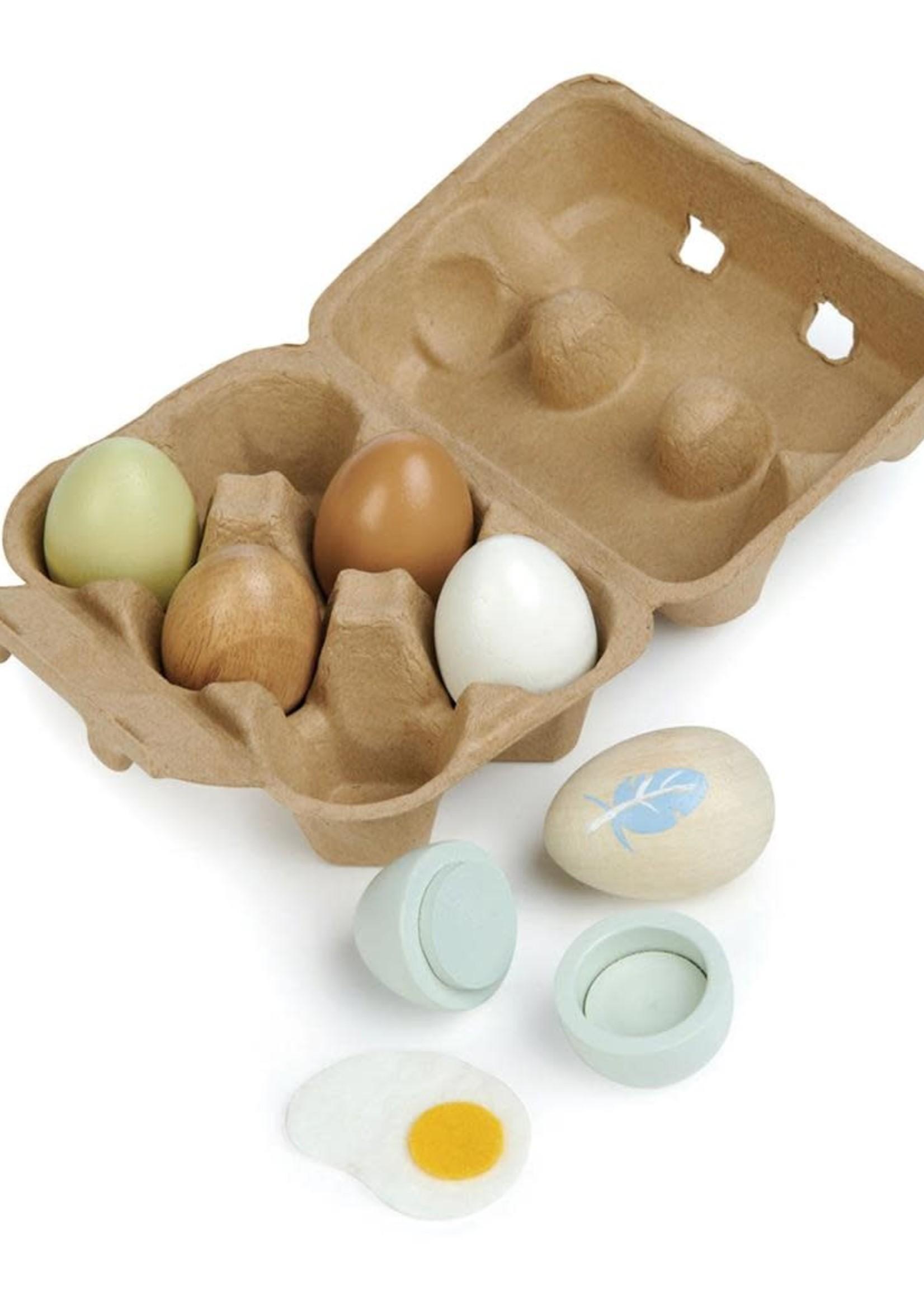 Tender Leaf Toys Karton eieren
