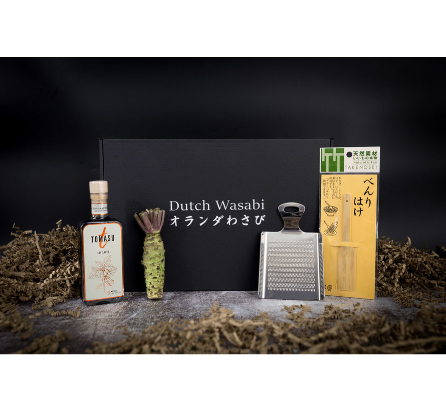 Dutch Wasabi/Soy sauce Gift Pack