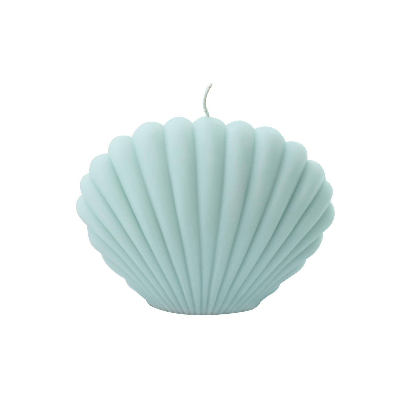 HANforum Kaars Shell - mint blauw