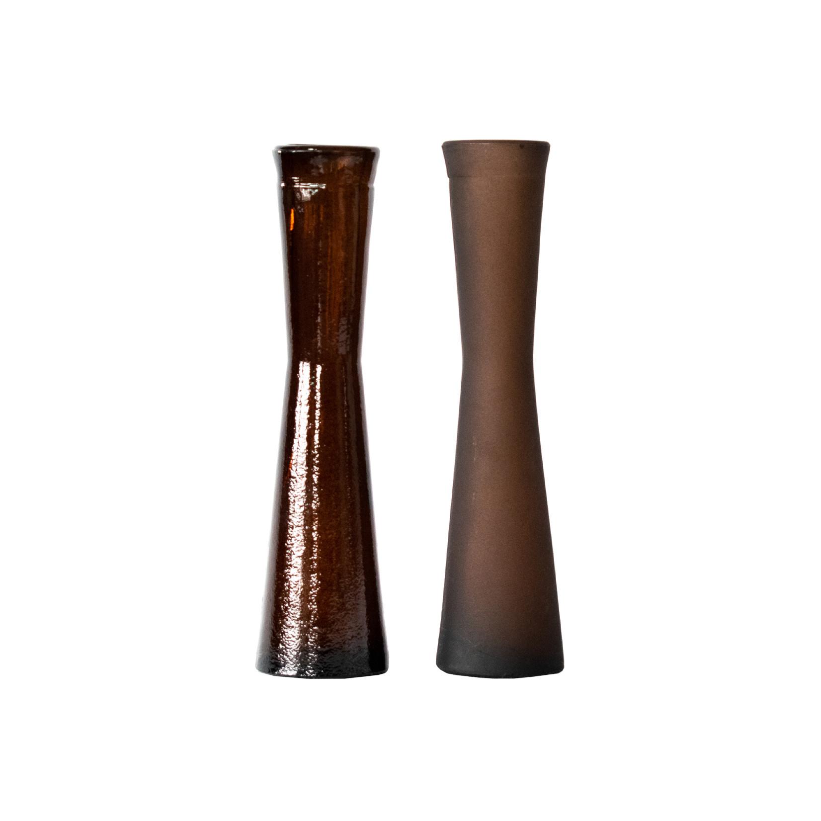 Van Manen's Vaasjes Florero - set bruin