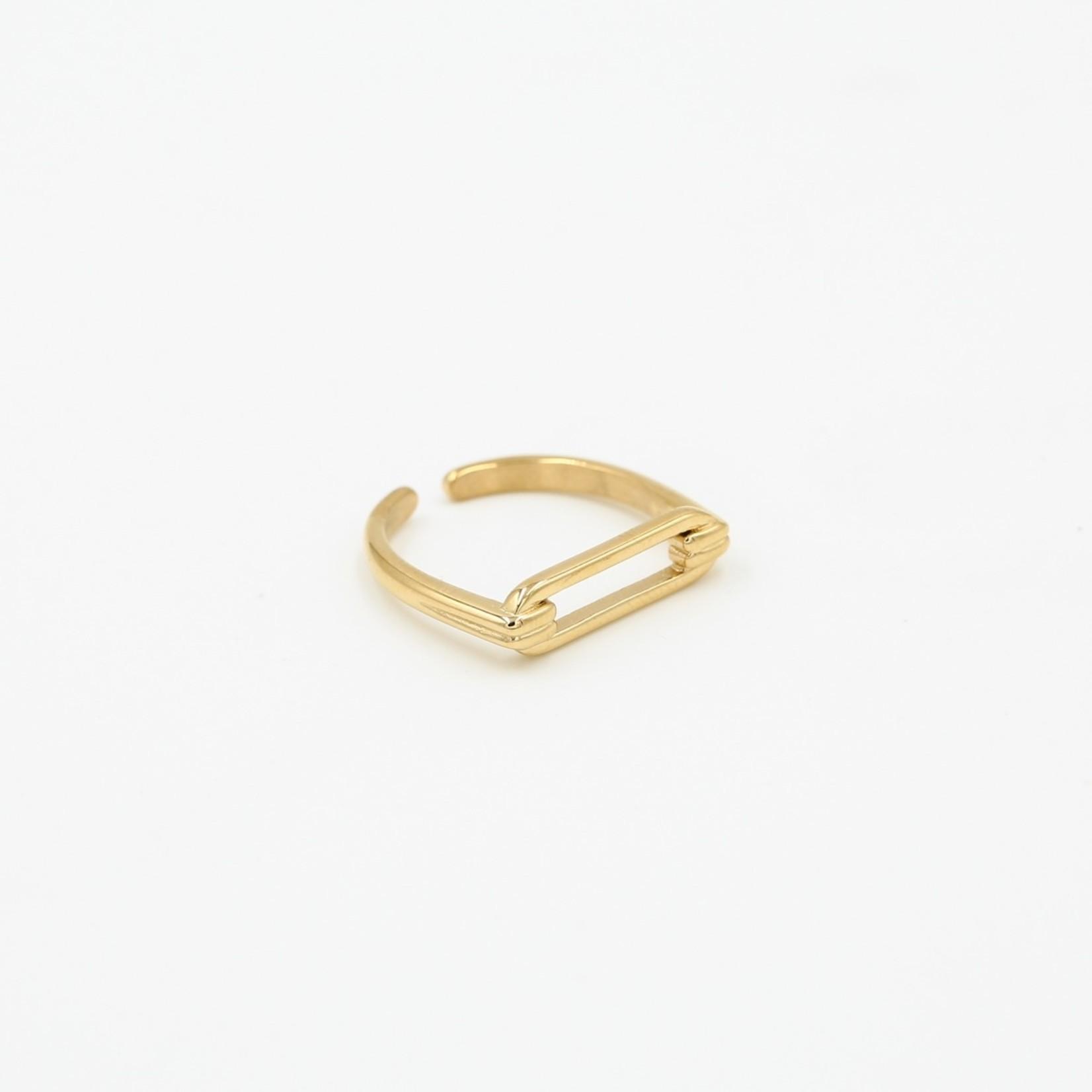 Sunset Fashion Ring Opra - goud