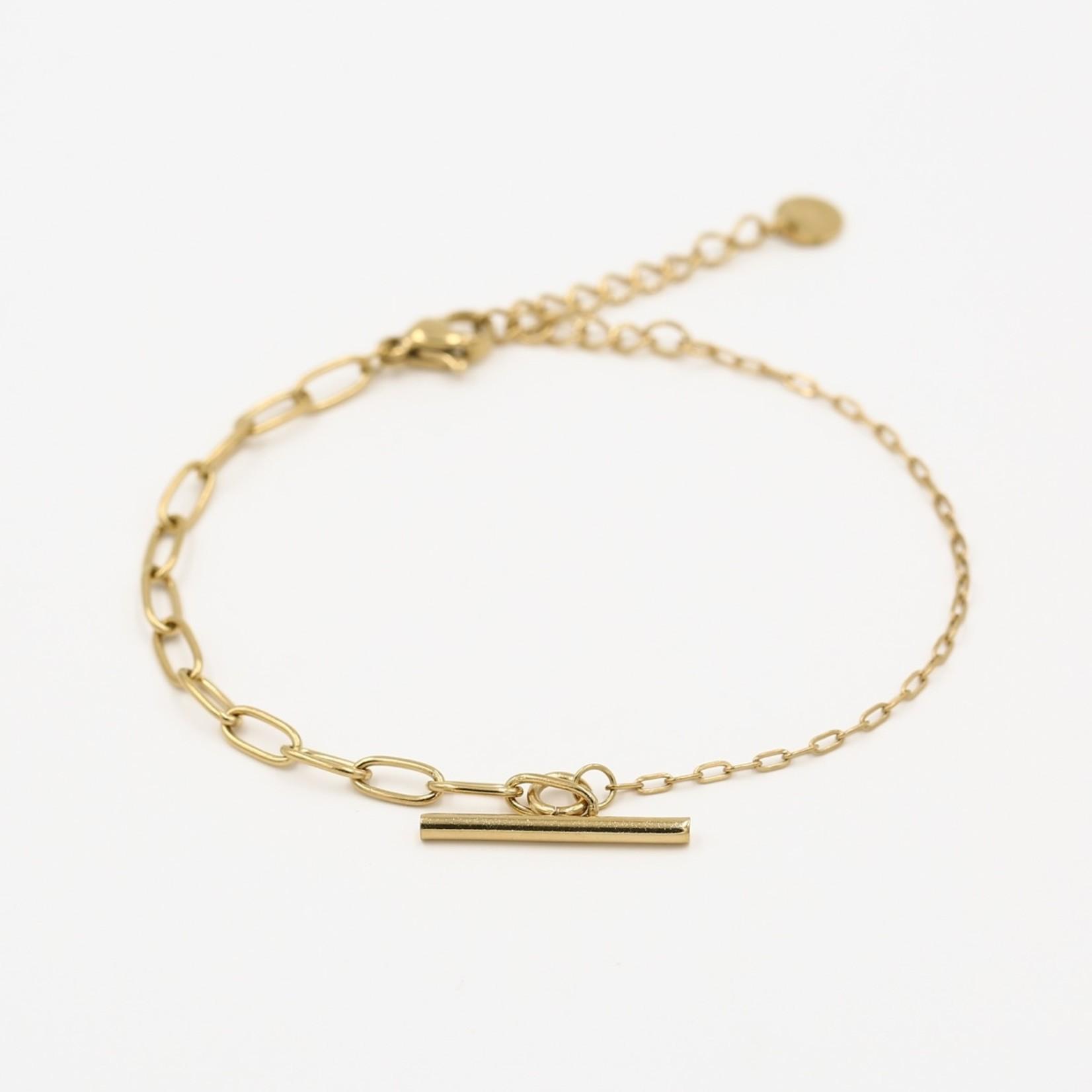 Sunset Fashion Armband Paige - goud
