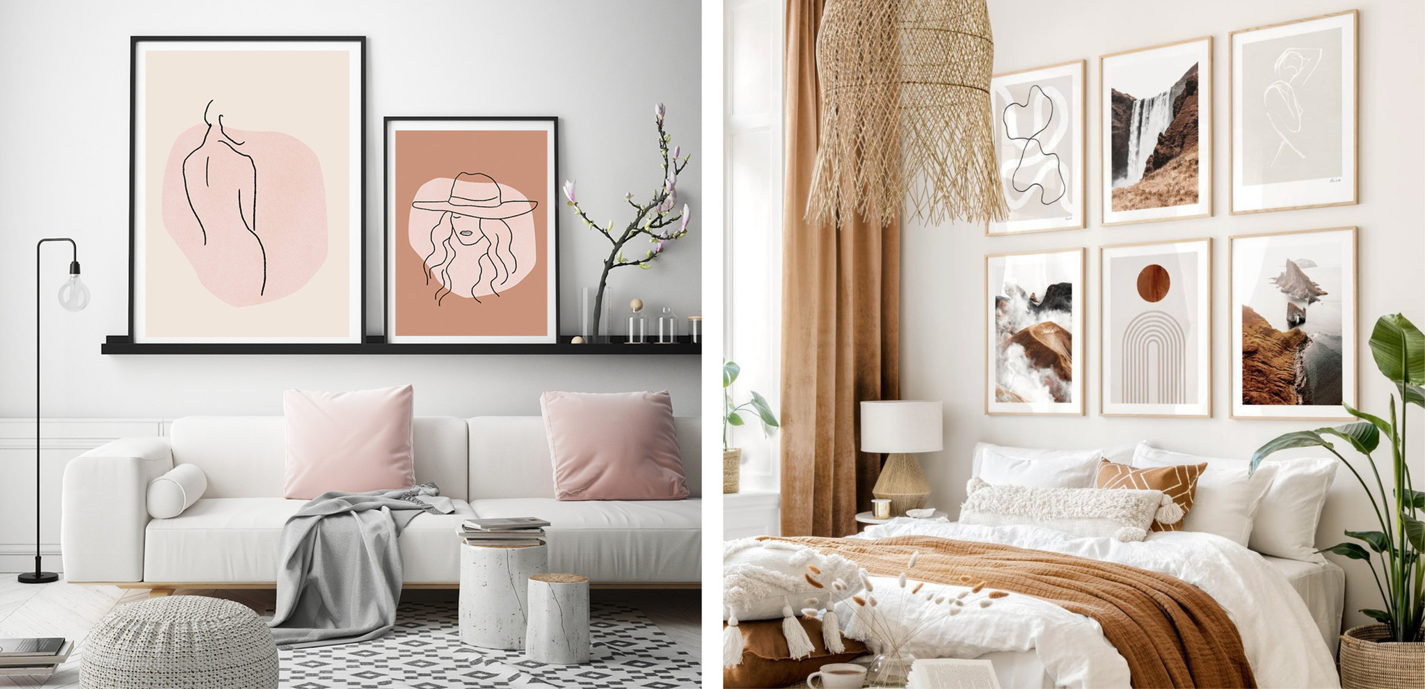 The Trend Girls - Styling Poster muur