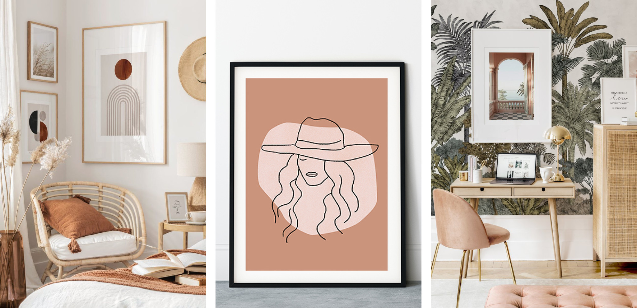 The Trend Girls - Styling Poster Wall
