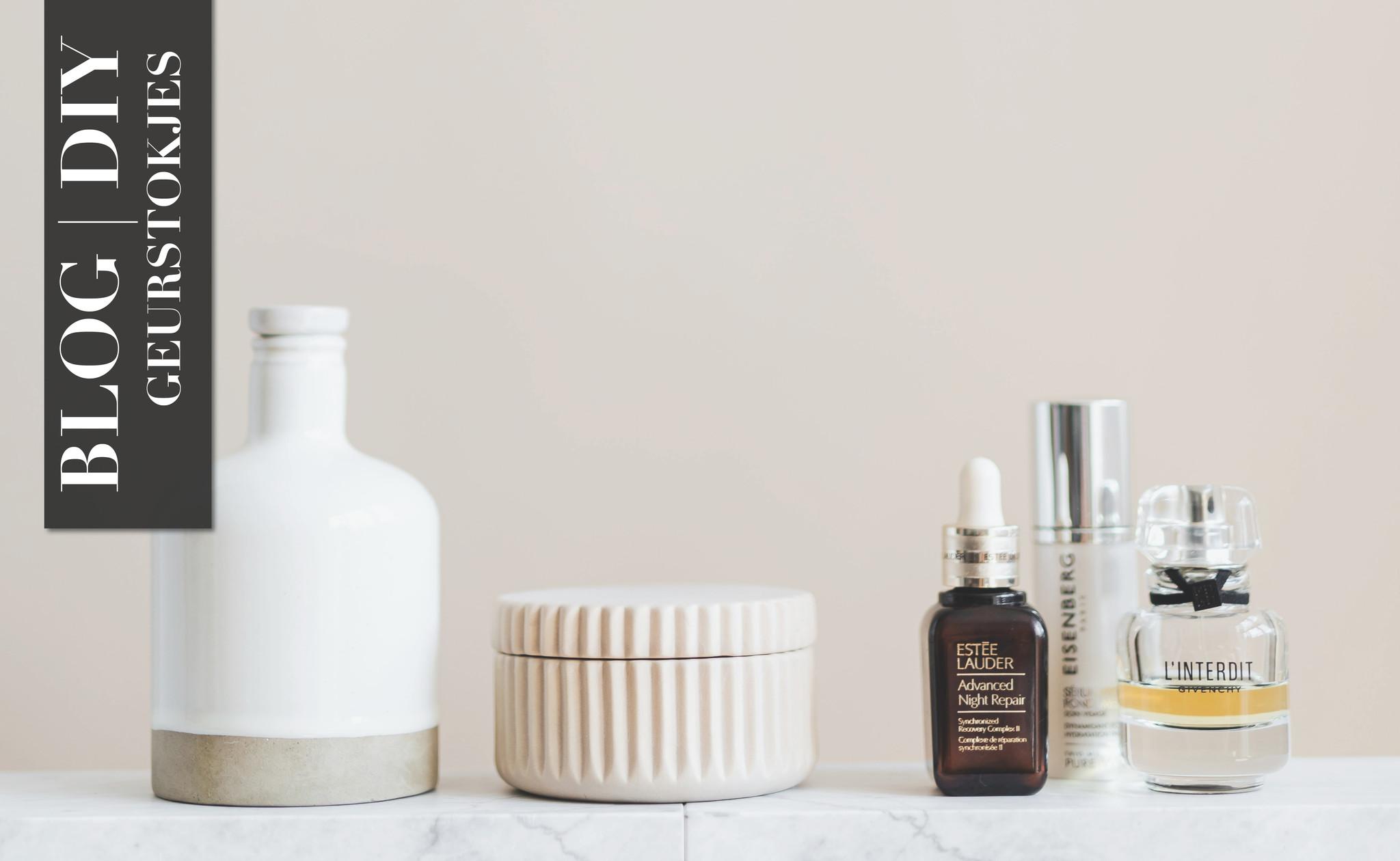 DIY | Geurstokjes met essentiële olie