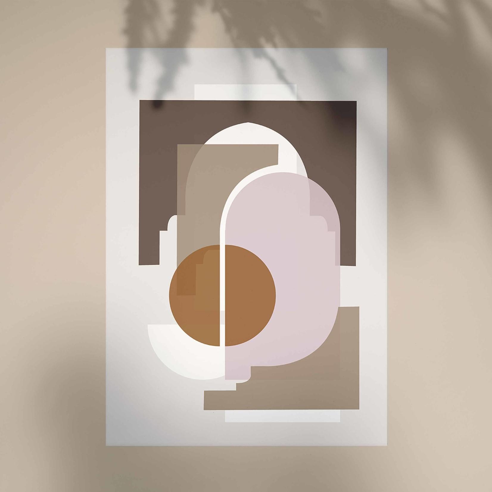 Studio Hoeked Poster Marrakech Beige