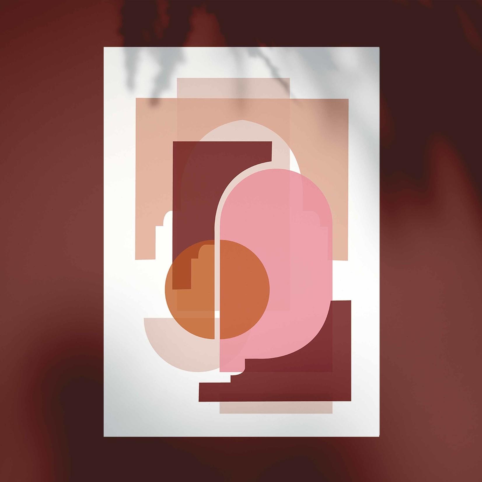 Studio Hoeked Poster Marrakech Terraccota