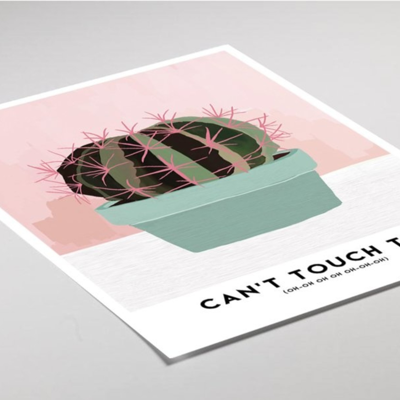 Studio Hoeked Poster Touch
