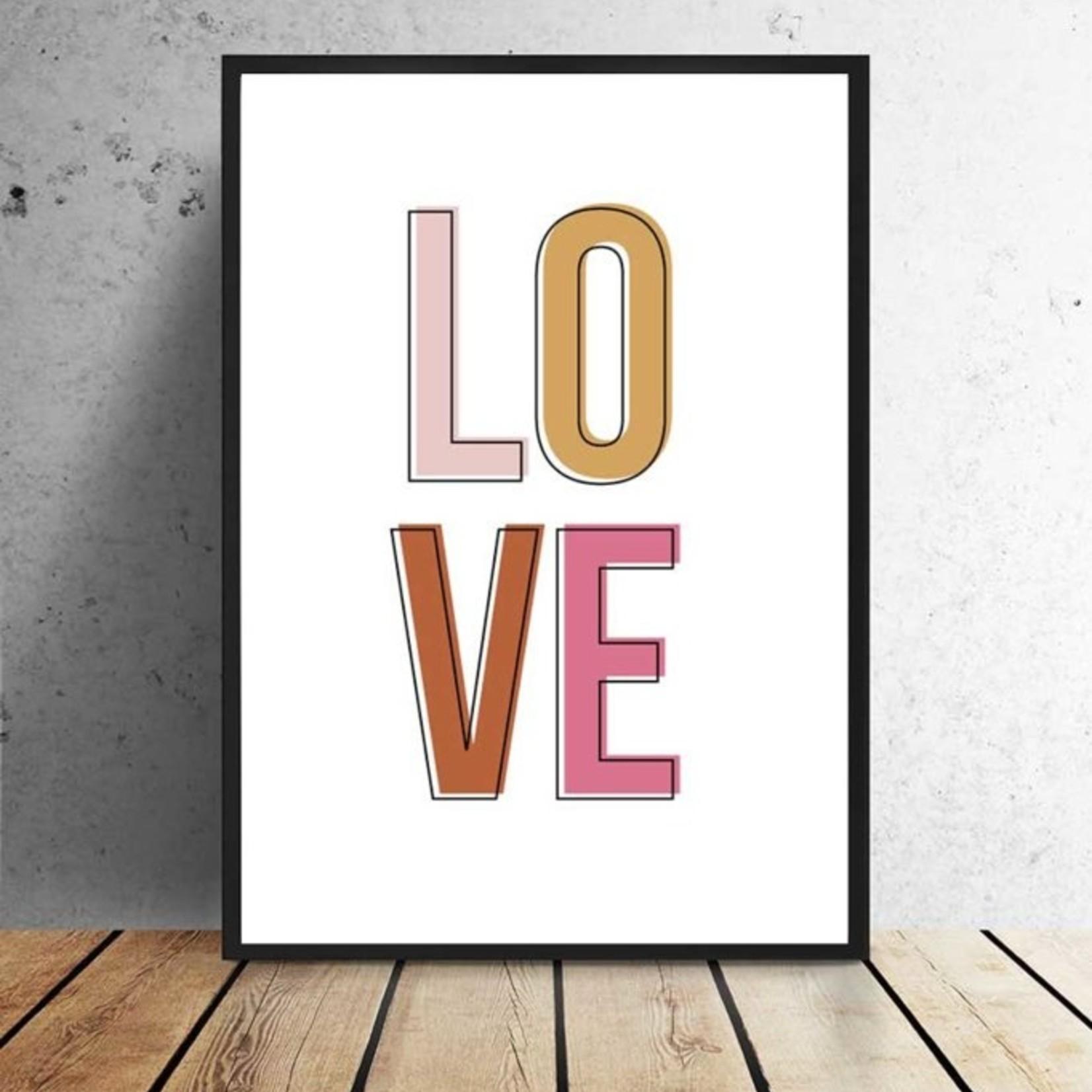 Studio Hoeked Poster Love
