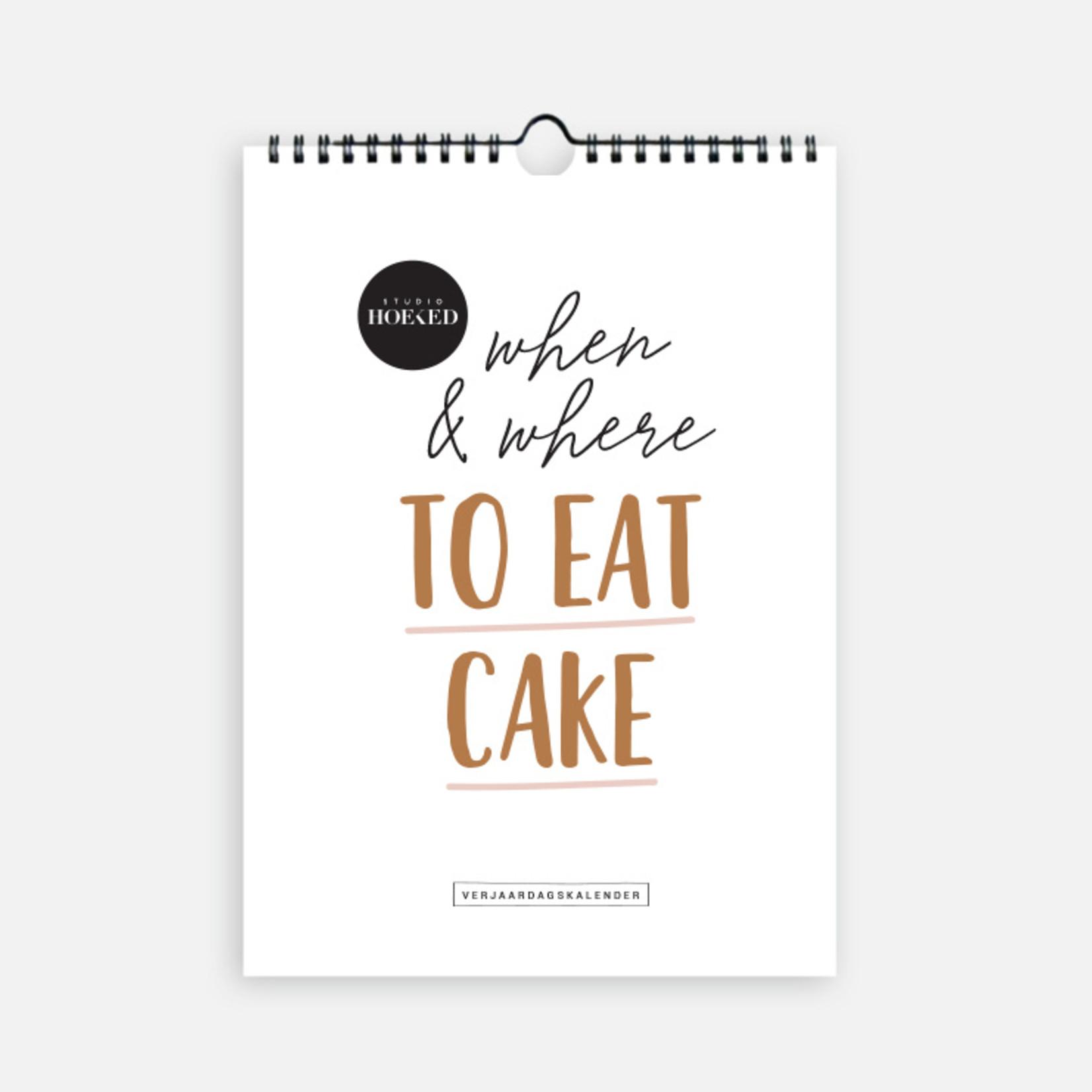 Studio Hoeked Kalender  Cake