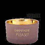 My Flame Geurkaars Champagne