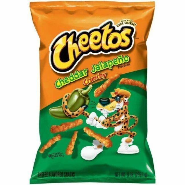 Cheetos Cheetos Cheddar Jalapeno 226g