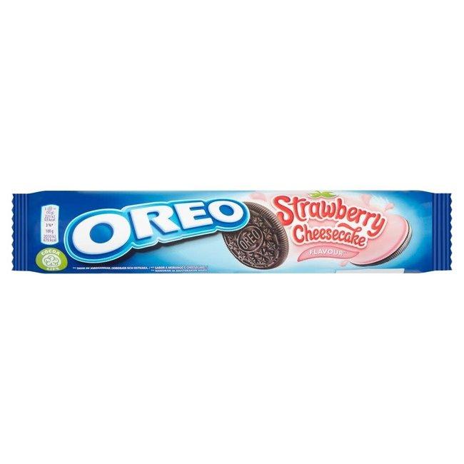 Mondelez International Oreo Roll Strawberry Cheesecake