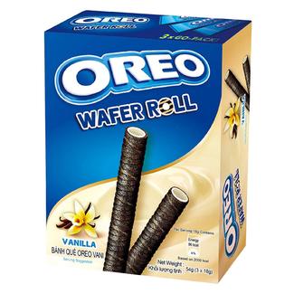 Mondelez International Oreo Wafer Roll Vanilla 54 gr.