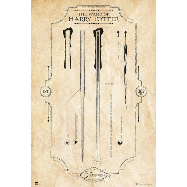 HARRY POTTER THE WAND